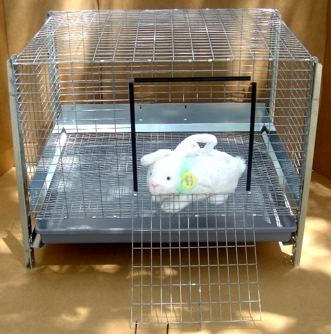BUNNYRABBIT.com STACK Cages, casters, Rabbit cage, bunny cage, Vanecek