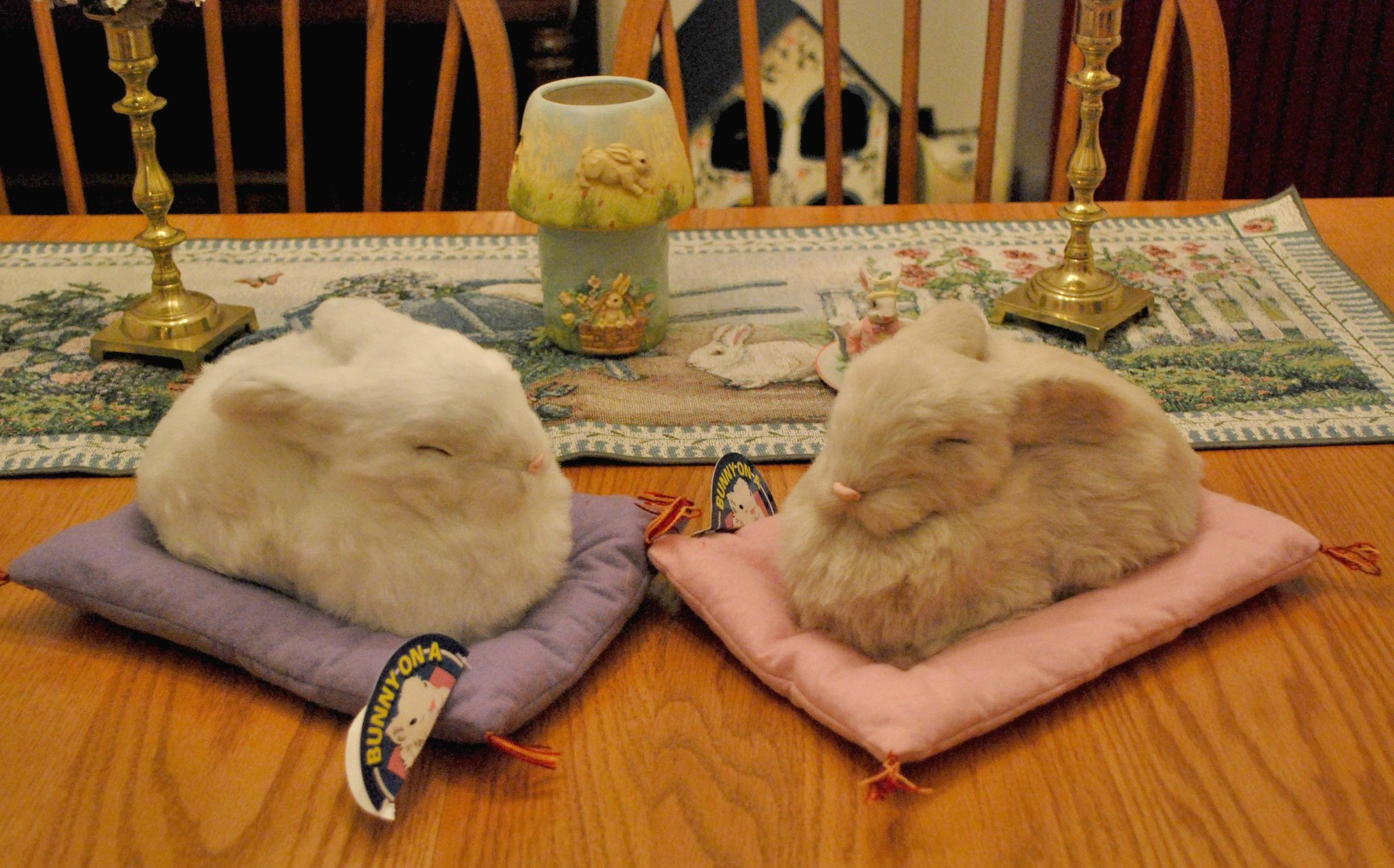 Bunny pillow rabbit pillow bunnyrabbit for Rabbit decorations home