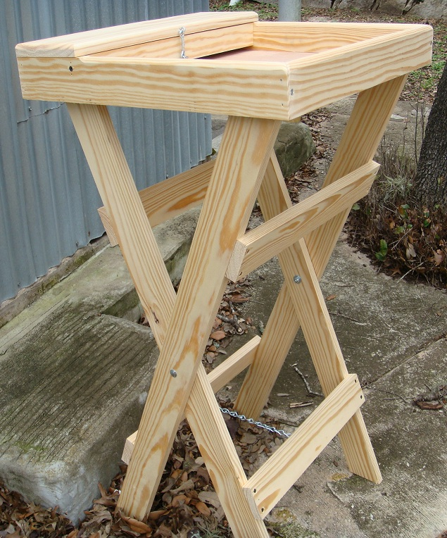 Wooden Grooming Table ~ Bunnyrabbit bunny rabbit grooming aids