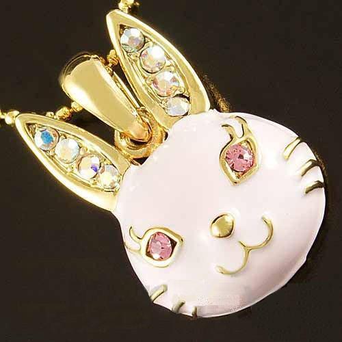 Bunnyrabbit Com Bunny Rabbit Necklace Bunny Jewelry