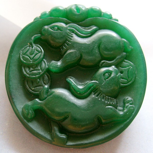 Jade rabbits dkgreen g